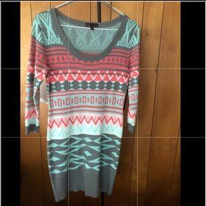 T/O Sweater Dress